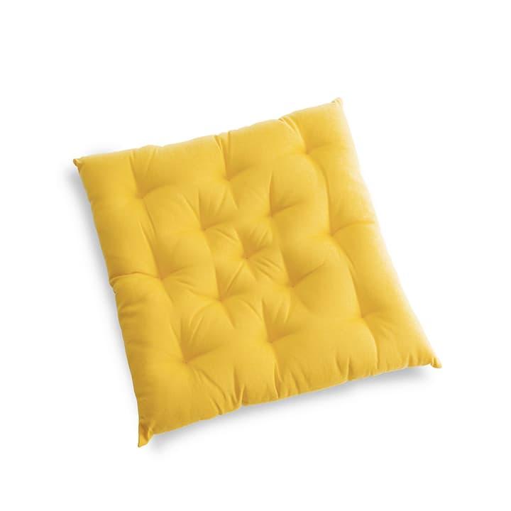 TABORA Coussin d'assise 378044100000 Couleur Jaune clair Dimensions L: 40.0 cm x P: 40.0 cm Photo no. 1