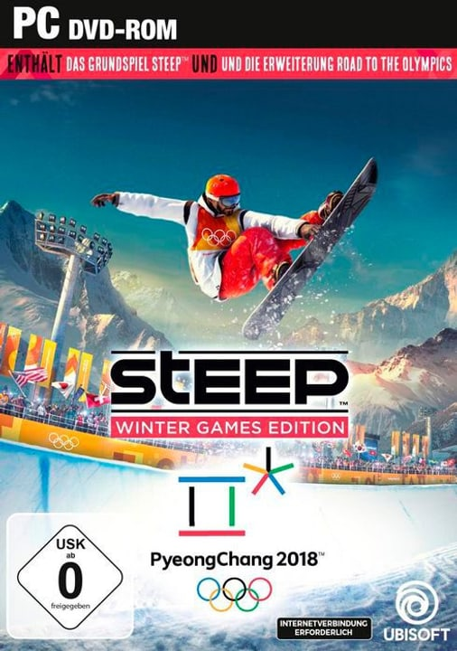 PC - Steep - Winter Games Edition [DVD] (D/F/I) Fisico (Box) 785300131407 N. figura 1
