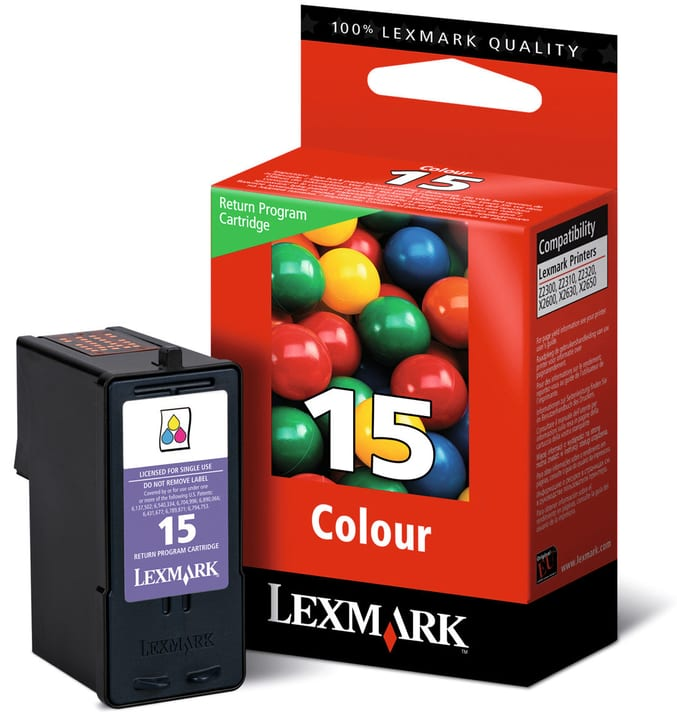Tintenpatrone Nr. 15a color Lexmark 797522100000 Bild Nr. 1