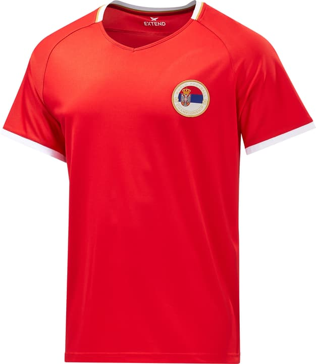 Serbie Maillot de supporter de football Extend 498283600430 Couleur rouge Taille M Photo no. 1