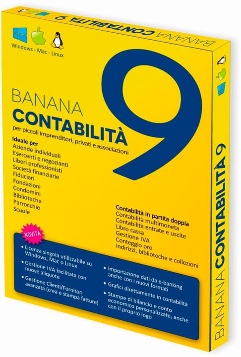 Banana PC/Mac - Banana Accounting 9 Physisch (Box) 785300132175 Bild Nr. 1