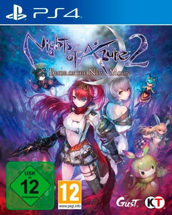 PS4 - Nights of Azure 2: Bride of The New Moon 785300129731 Photo no. 1