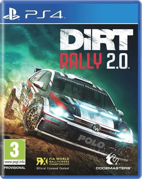 PS4 - DiRT Rally 2.0 Day One Edition Box 785300139644 Lingua Francese Piattaforma Sony PlayStation 4 N. figura 1