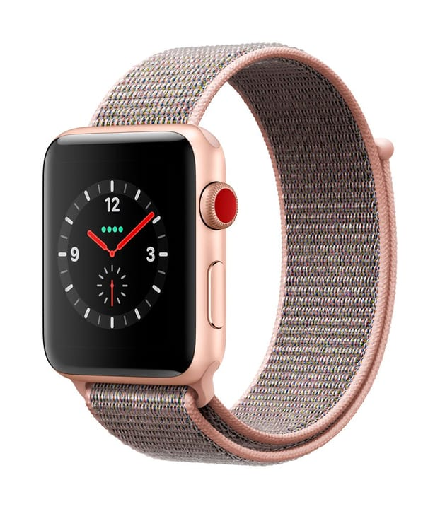 Watch Series 3 GPS/LTE 42mm gold/pinksand loop 785300130051 Photo no. 1
