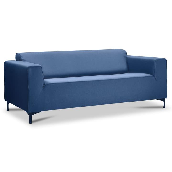 GIANA 2er Sofa 360053254503 Grösse B: 188.0 cm x T: 95.0 cm x H: 75.0 cm Farbe Blau Bild Nr. 1