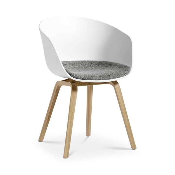 AAC 22 sedia HAY 366118812610 Dimensioni L: 52.0 cm x P: 59.0 cm x A: 79.0 cm Colore Bianco N. figura 1