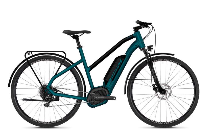 """Square Trekking BX2.8 28"""" pour femme vélo electrique de trekking Ghost 464806300340 Couleur bleu Tailles du cadre S Photo no. 1"""