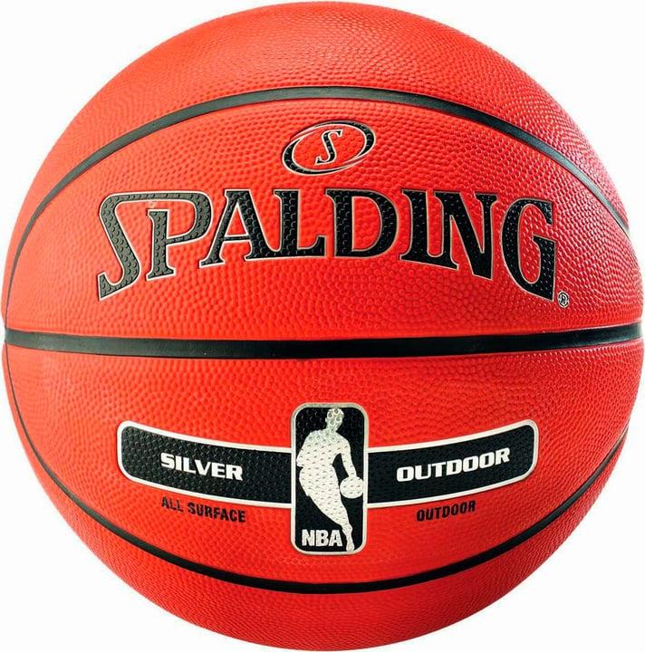 Image of Spalding NBA Silver (7) Basketball braun