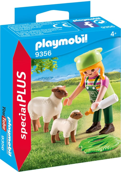 Playmobil Ragazza con pecora e agnellino 746094500000 N. figura 1