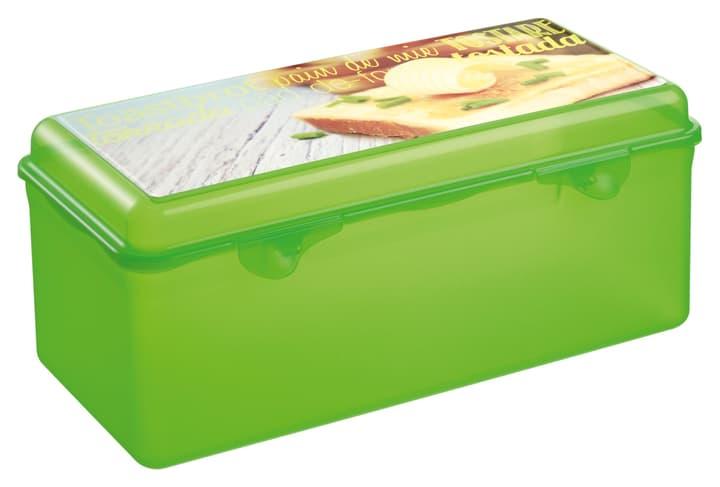 TAKE AWAY Contenitore per pane da toast M-Topline 703706200060 Colore Verde Dimensioni L: 14.5 cm x A: 13.0 cm N. figura 1