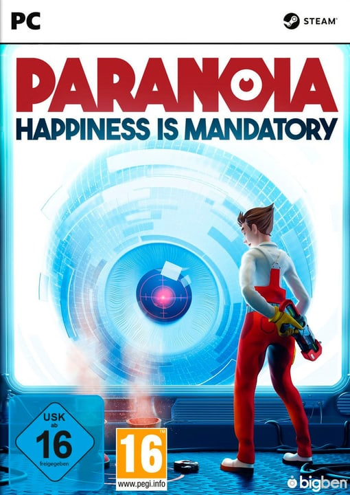 PC - PARANOIA: Happiness is Mandatory Box 785300145804 Photo no. 1