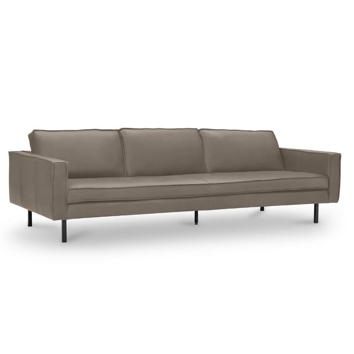 TEXADA divano in pelle da 4 posti 360020328704 Dimensioni L: 241.0 cm x P: 95.0 cm x A: 61.0 cm Colore Grigio scuro N. figura 1