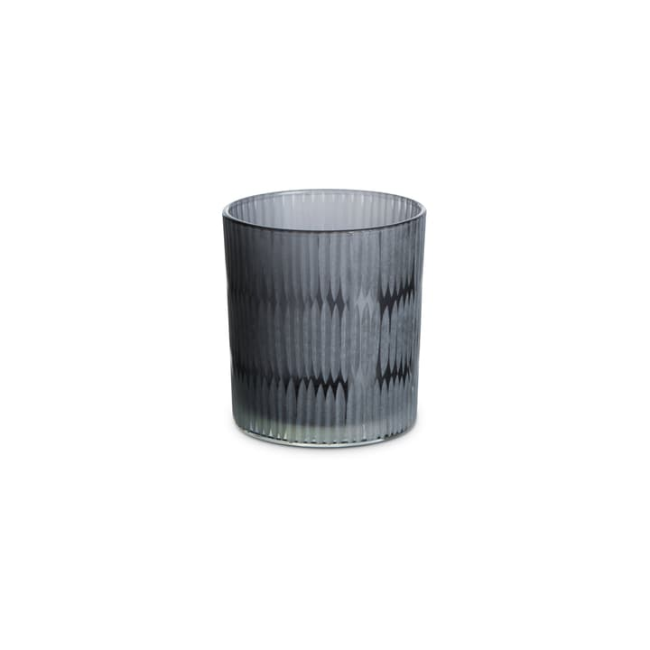 LIANA Teelichthalter 390242000000 Grösse H: 8.0 cm Farbe Grau Bild Nr. 1