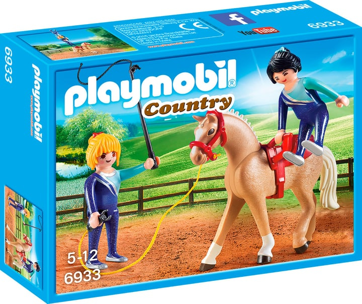 Playmobil Country Voltigier-Training 6933 746085600000 Bild Nr. 1