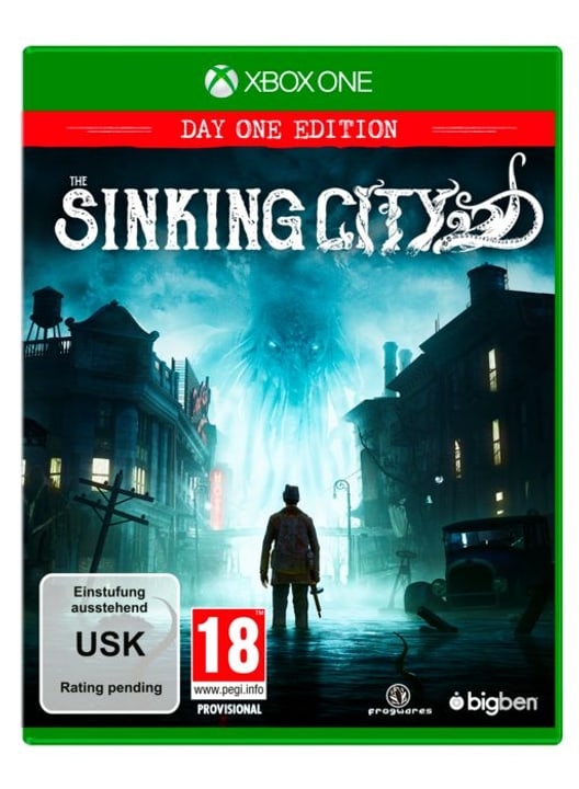 Xbox One - The Sinking City - Limited Day One Edition D/F Box 785300142292 N. figura 1