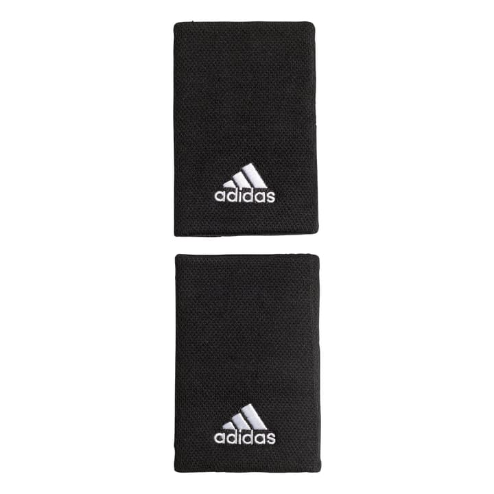 Tennis Wristband L Serre-poignets large Adidas 473224999920 Couleur noir Taille one size Photo no. 1