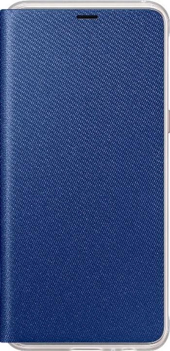Neon Flip Cover A8 2018 blau Flip Case Samsung 785300132013 Bild Nr. 1