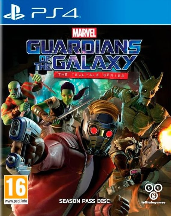 PS4 - Guardians of the Galaxy - The Telltale Series Box 785300122154 Bild Nr. 1