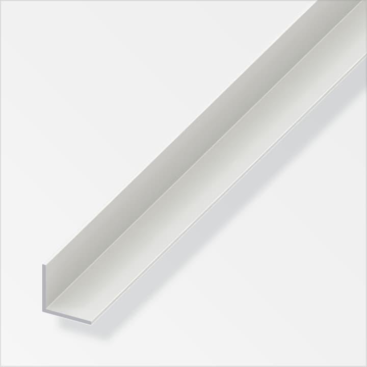 Cornière isocèle 1.8 x 25 x 25 mm PVC blanc 1 m alfer 605041100000 Photo no. 1