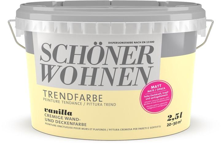 Pittura trend OPACA 2,5L Vanilla Vanilla 2.5 l Schöner Wohnen 660963200000 Colore Vanilla Contenuto 2.5 l N. figura 1