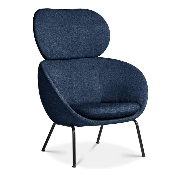 SAPO Poltrona Edition Interio 360434107040 Dimensioni L: 84.0 cm x P: 85.0 cm x A: 110.0 cm Colore Blu N. figura 1