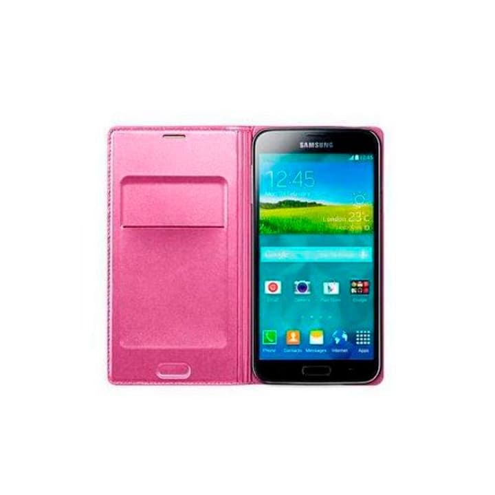 GALAXY S5 Flip Wallet - glam pink Samsung 797911500000 Photo no. 1