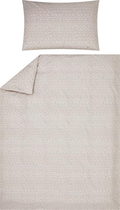 JOEL Federa per cuscino percalle 451194710681 Colore Grigio chiaro Dimensioni L: 65.0 cm x A: 65.0 cm N. figura 1