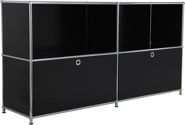 FLEXCUBE Sideboard 401809000020 Grösse B: 152.0 cm x T: 40.0 cm x H: 80.5 cm Farbe Schwarz Bild Nr. 1