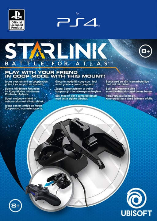 PS4 - Starlink MOUNT CO-OP Pack Physique (Box) 785300139046 Photo no. 1