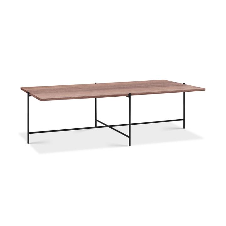 ELLY Tavolino da salotto 362255900000 Colore Noce Dimensioni L: 120.0 cm x P: 70.0 cm x A: 35.0 cm N. figura 1