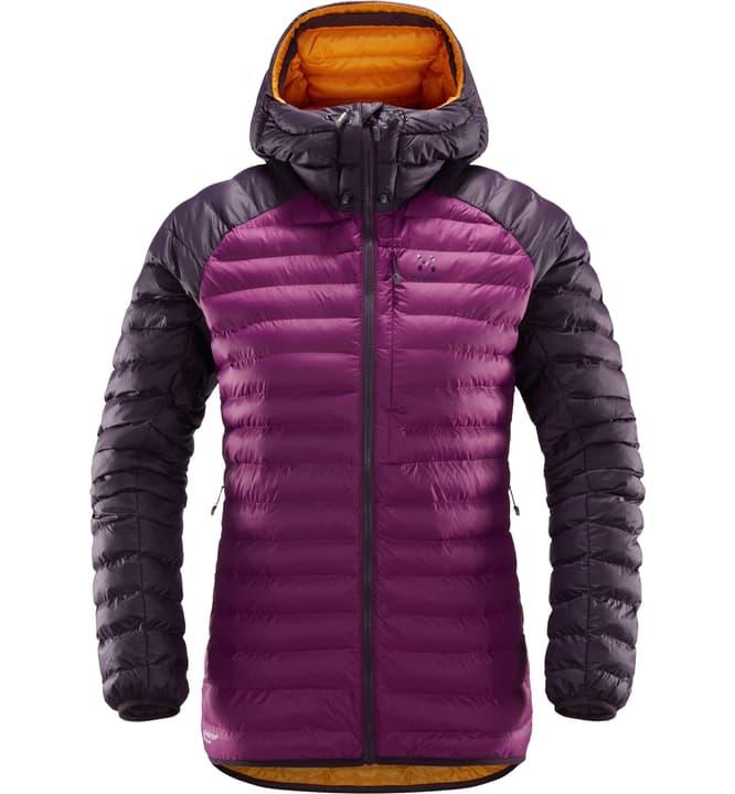 ESSENS Mimic Hood Damen-Isolationsjacke Haglöfs 462703400445 Farbe violett Grösse M Bild-Nr. 1
