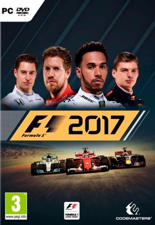 PC - F1 2017 Fisico (Box) 785300129976 N. figura 1