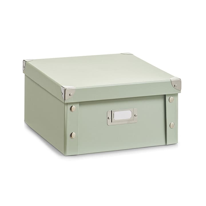 STORA Aufbewahrungsbox 440628600062 Farbe Mint Grösse B: 26.0 cm x T: 31.0 cm x H: 14.0 cm Bild Nr. 1