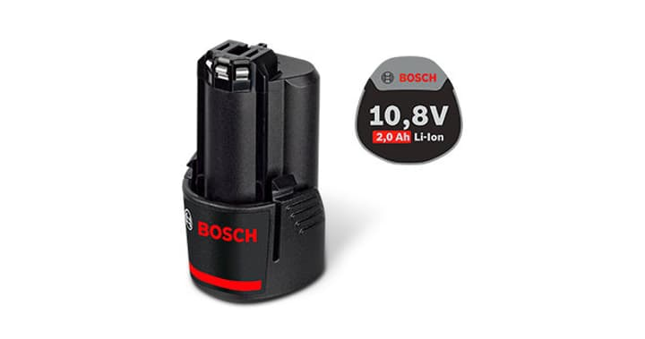 Batterie GBA 12LI 2.0 Ah Bosch Professional 616233100000 Photo no. 1