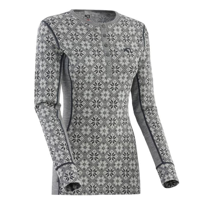 Rose Damen-Langarmshirt Kari Traa 477090100480 Farbe grau Grösse M Bild-Nr. 1