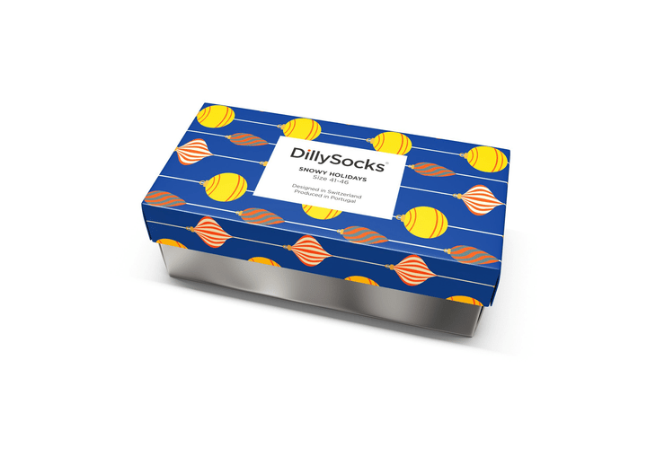 Dilly Socks Gift Box Snowy Holidays T. 41-46 396131300000 Photo no. 1