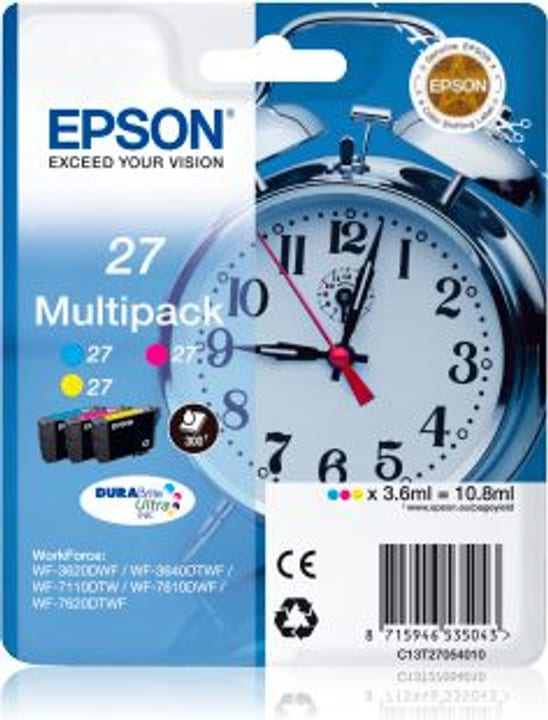 Cartucce d'inchiostro T2705 Multipack Cartuccia d'inchiostro Epson 795825600000 N. figura 1