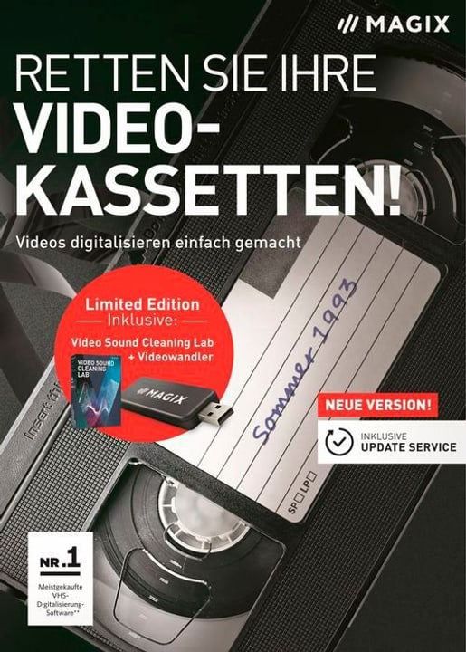 PC - Retten Sie Ihre Videokassetten! Limited Edition (D) Physique (Box) Magix 785300129415 Photo no. 1