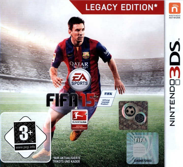 3DS - FIFA 15 - Legacy Edition 785300121565 Photo no. 1