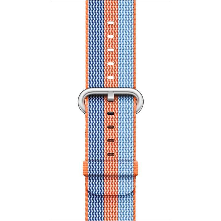 42 mm Armband aus gewebtem Nylon, Orange Apple 785300128926 Bild Nr. 1