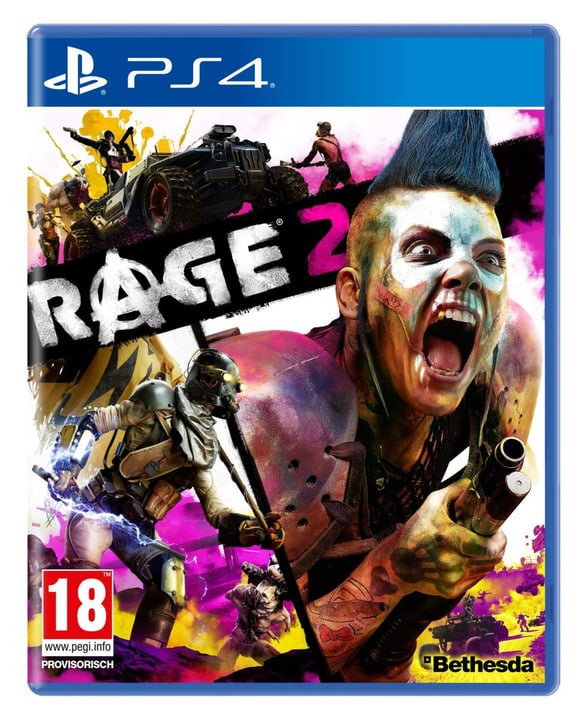 PS4 - RAGE 2 Box 785300142576 Langue Allemand Plate-forme Sony PlayStation 4 Photo no. 1