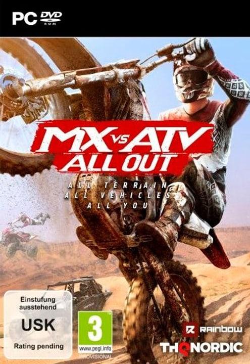 PC - MX vs. ATV All Out F/I Box 785300132002 Photo no. 1