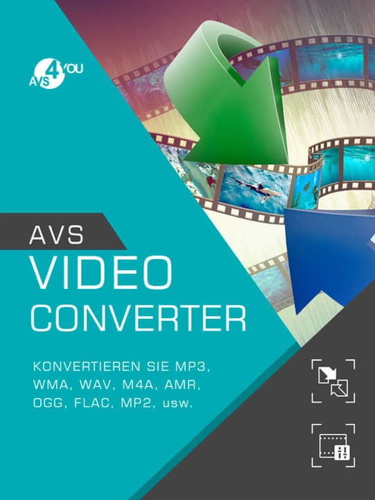 AVS Video Converter incl. Activation-Key PC Digitale (ESD) 785300134038 N. figura 1