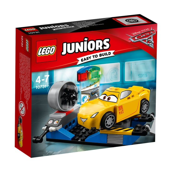 LEGO Juniors Cruz Ramirez Rennsimulator 10731 748846000000 Bild Nr. 1