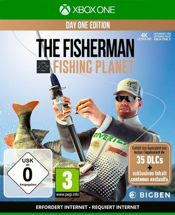 Xbox One - PS4 - PC - The Fisherman - Fishing Planet Day One Edition Box 785300146542 Photo no. 1