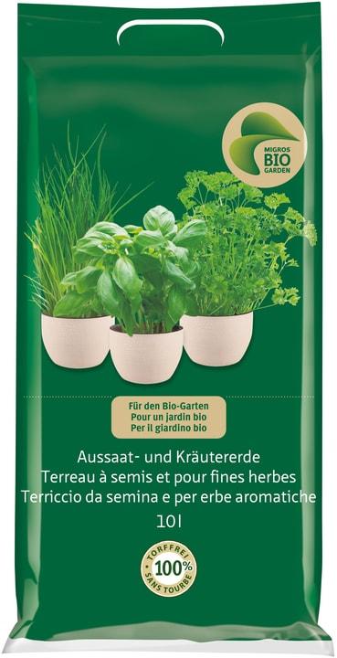 Terriccio da semina e per erbe aromatiche, 10 l Migros-Bio Garden 658109400000 N. figura 1
