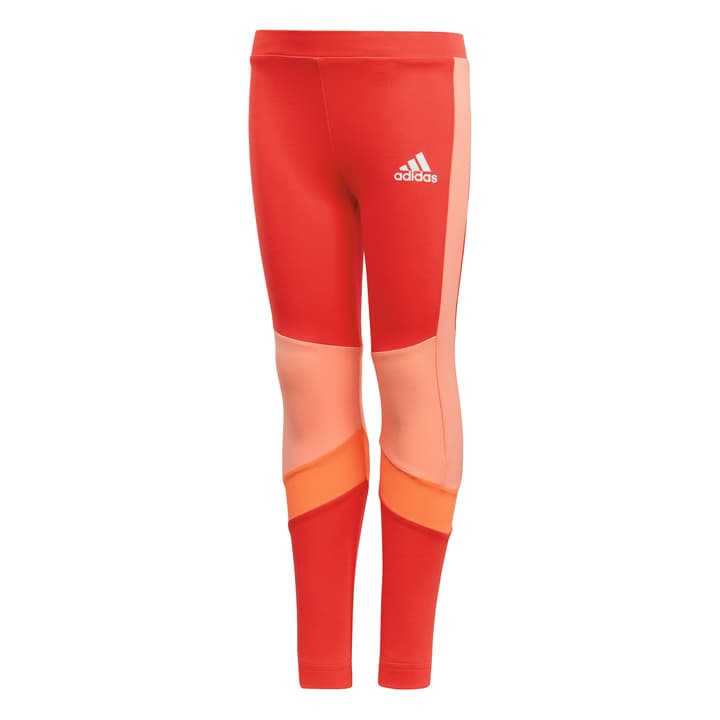 Little Girls Training Tight Leggings pour fille Adidas 472337310431 Couleur rouge claire Taille 104 Photo no. 1
