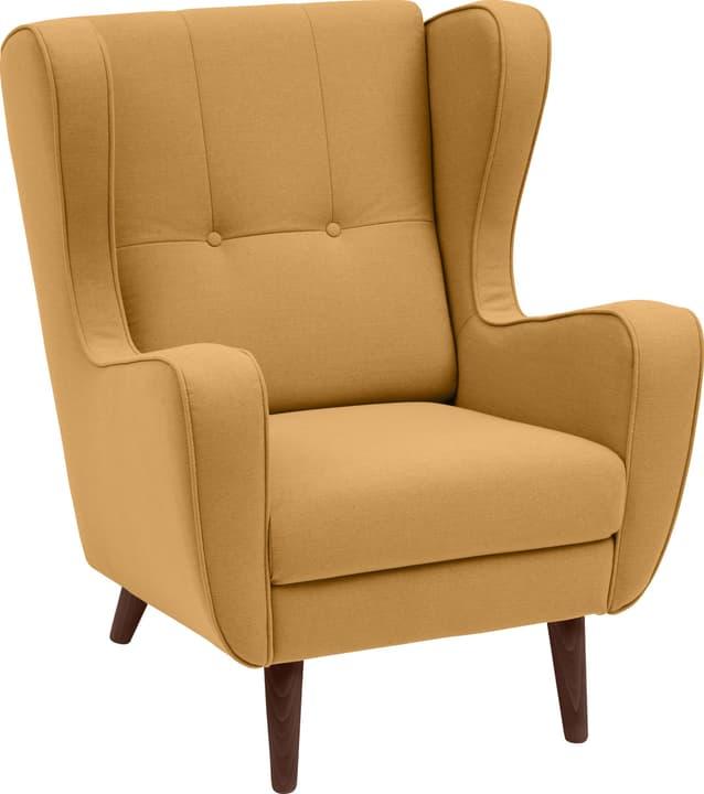 BRAHMS Sessel 402462907050 Grösse B: 80.0 cm x T: 90.0 cm x H: 97.5 cm Farbe Gelb Bild Nr. 1
