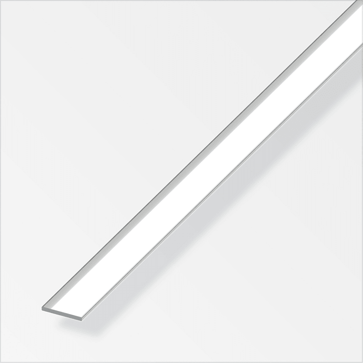 Flachstange 2 x 15 mm chrom-optik 1 m alfer 605136700000 Bild Nr. 1