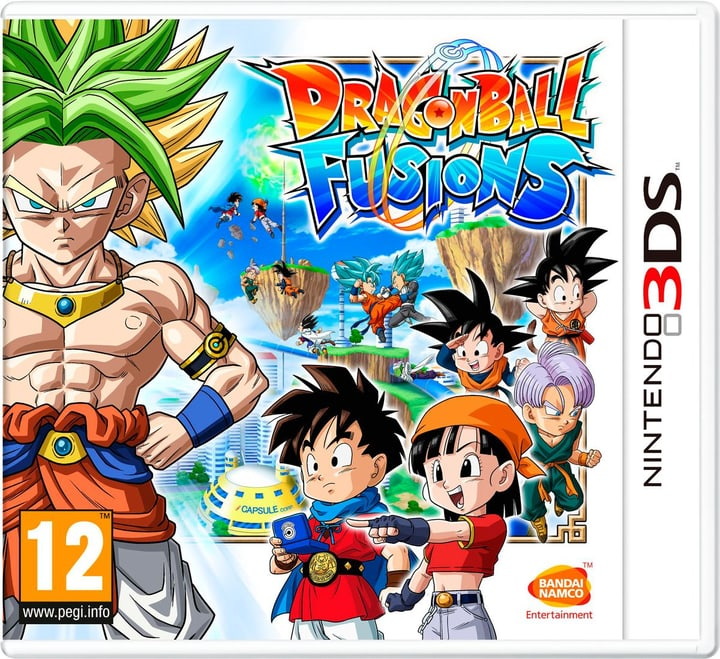 3DS - Dragon Ball Fusions Fisico (Box) 785300121687 N. figura 1